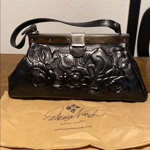 NWOT Patricia Nash Burnished Tool Ferrara Purse